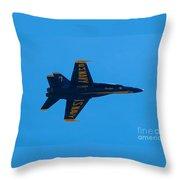 Blue Angels 21 Throw Pillow