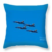 Blue Angels 25 Throw Pillow