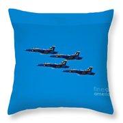 Blue Angels 26 Throw Pillow