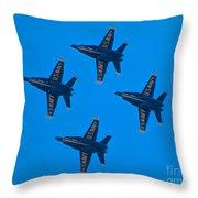 Blue Angels 8 Throw Pillow