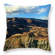 Blue Basin Blue Skies Throw Pillow