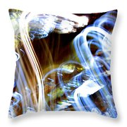 Blue Days Throw Pillow