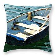 Blue Dory Throw Pillow