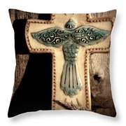 Blue Dove Throw Pillow