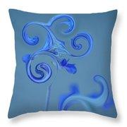 Blue Heaven Throw Pillow