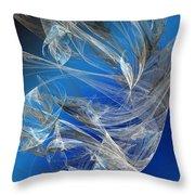 Blue Legacy Throw Pillow