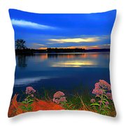 Blue Must Be The Color Angels Choose Throw Pillow