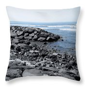Blue Pacific Throw Pillow