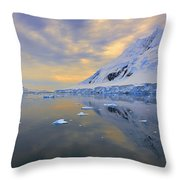 Blue Passage  Throw Pillow