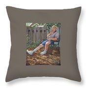 Blue Royal Throw Pillow