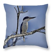 Blue Skies V2 Throw Pillow