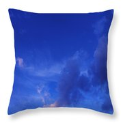 Blue Sky Always Throw Pillow