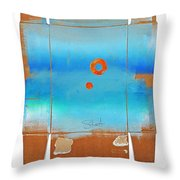 Blue Turner Walkabout Throw Pillow
