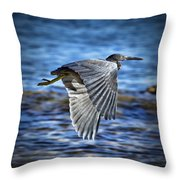 Blue Waters V2 Throw Pillow