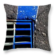 Bluer Sewer Four Throw Pillow