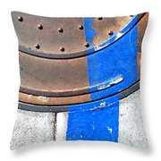 Bluer Sewer One Throw Pillow