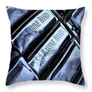 Blues Harps  Throw Pillow