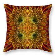 Blumen Art Throw Pillow