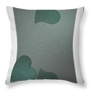 Blurcards Side Throw Pillow
