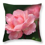 Blush Throw Pillow