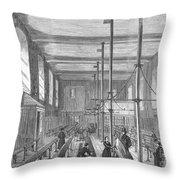 Boarding School, 1862 Throw Pillow