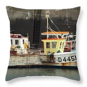 Boat 0002 Throw Pillow