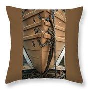Boat 0004 Throw Pillow