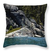 Boat A Rockin Throw Pillow