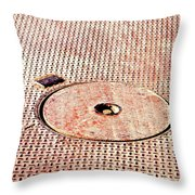 Boat Deck Throw Pillow