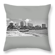 Boat For Sure Throw Pillow