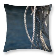 Boating Time Throw Pillow