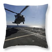 Boatswains Mate Signals The Pilots Throw Pillow