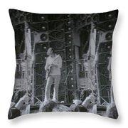Bob Weir Grateful Dead 74 Dsm Ia Throw Pillow