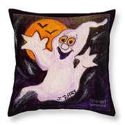 Bobbledeboo Throw Pillow