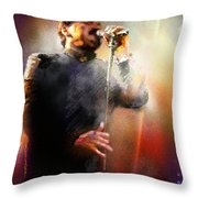 Bobby Kimball From Toto 01 Throw Pillow