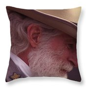 Lee Weeps Throw Pillow