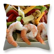 Bobs Lunch Throw Pillow