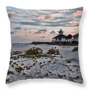 Boca Grande Sunset Throw Pillow