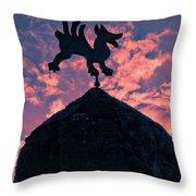 Bodegas El Grifo  Throw Pillow