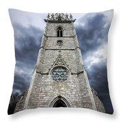 Bodelwyddan Church Throw Pillow
