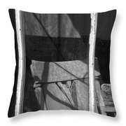 Bodi Ghost Town Window Throw Pillow