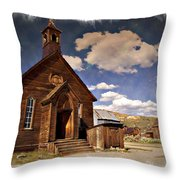 Bodie Church - Impressions Throw Pillow