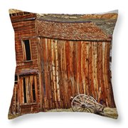 Bodie Ghost Town Throw Pillow by Garry Gay