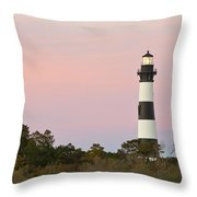 Bodie Island Light Throw Pillow