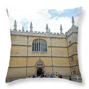 Bodleian Library Throw Pillow