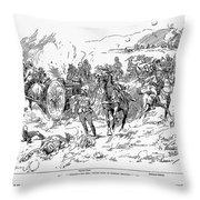 Boer War, 1899 Throw Pillow