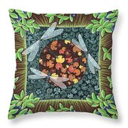 Boggy Pond Throw Pillow
