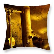 Boiler Room Throw Pillow