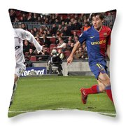 Bojan Krkic Stroke 2 Throw Pillow