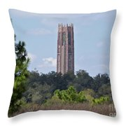 Bok Tower Throw Pillow